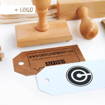 OPCIONAL: Añade un sello con tu logo en las opciones de producto