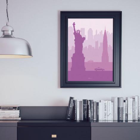 "Lámina descargable ""Nueva York"""