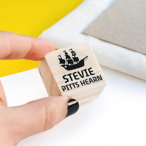 """Sello ropa """"Pirata"""""""
