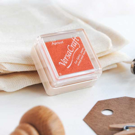 Mini tinta VersaCraft Apricot (papel, tela y madera)