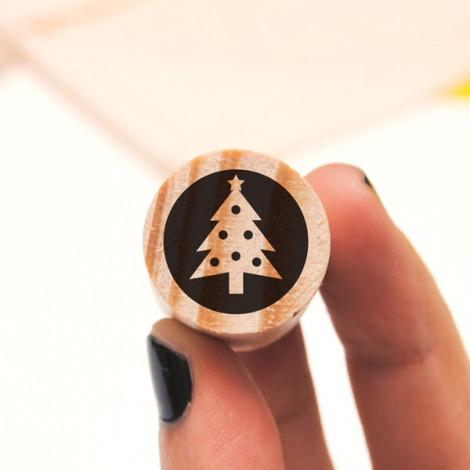 Mini sello Árbol de Navidad
