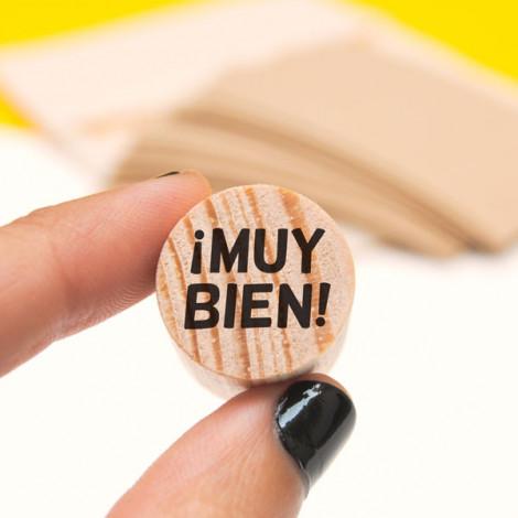 Mini sello ¡Muy bien! (castellano)