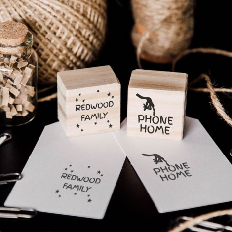 "Pack de 2 sellos ""Phone Home"""