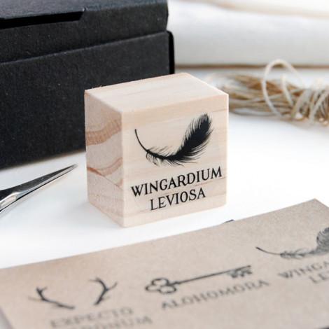 """Sello """"Wingardium Leviosa"""""""