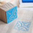 Mini tinta azul eléctrico VersaCraft Cerulean Blue (papel, tela y madera)