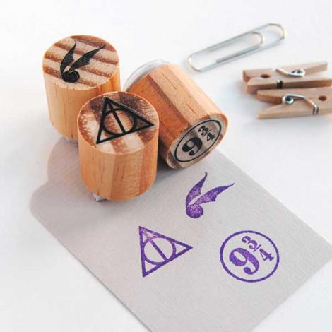 "Pack de 3 mini sellos ""Magia"""