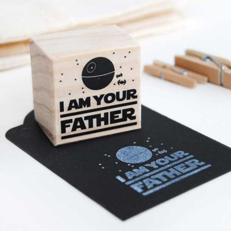 """Sello """"I am your father"""""""