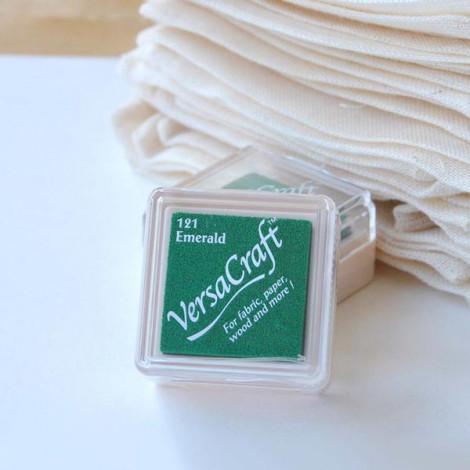 Mini tinta verde VersaCraft Emerald (papel, tela y madera)