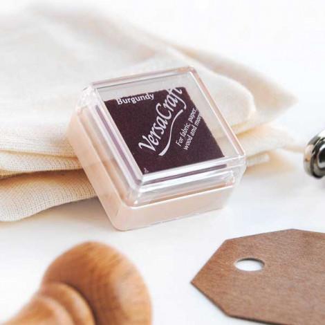 Mini tinta borgoña VersaCraft Burgundy (papel, tela y madera)