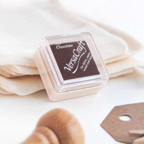 Mini tinta VersaCraft Chocolate (papel, tela y madera)