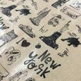 Sellos ilustrados scrapbooking album viaje Nueva York por Sira Lobo para biterswit