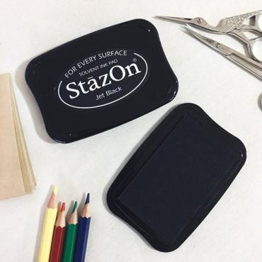 Tinta negra para superficies no porosas como vidrio y plástico