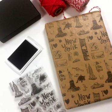 Perfecta para hacer papel de regalo DIY :)