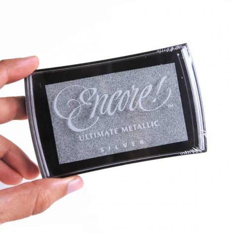 Tinta Plateada Encore Ultimate Metallic Silver (Papel)