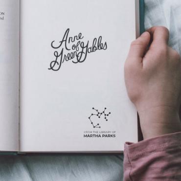 Sello para marcar libros con tu horóscopo