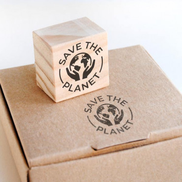 Sello packaging sostenible envíos extranjero Save the Planet | biterswit