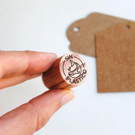 Sello con Logotipo para packaging DIY · biterswit