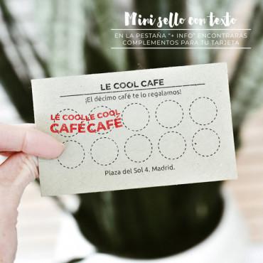 Este producto no incluye el mini sello pero en la pestaña +INFO encontrarás todos los complementos.
