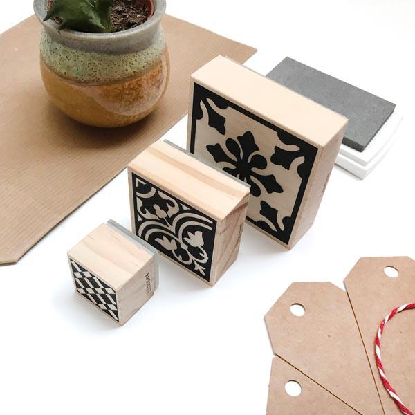 Mini sello Handmade para productos hechos a mano
