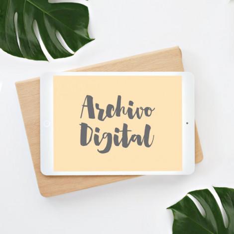 Archivo Digital (Blanco y Negro)