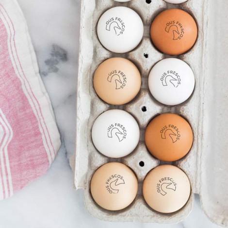 Sello para Huevos Frescos - Pato