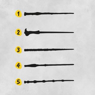 Escoge la varita mágica que más os represente. Puedes elegir 2.