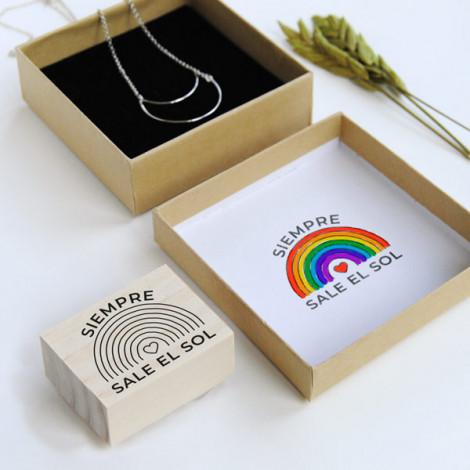 Pack Sellos Arcoíris. Producto Solidario Covid-19