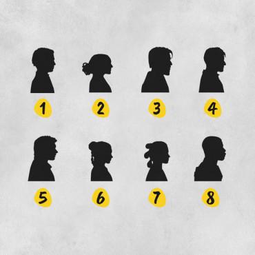 Elige las dos siluetas que más os representen