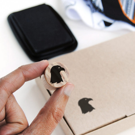 Tarjeta cartulina color negro
