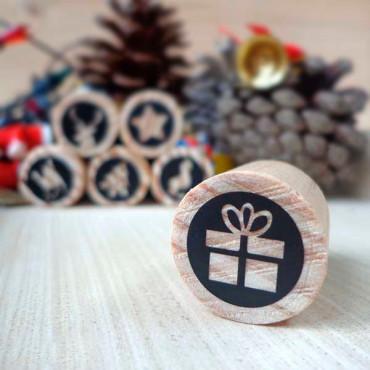 También encontrarás este sello en nuestro pack de mini sellos Navidad
