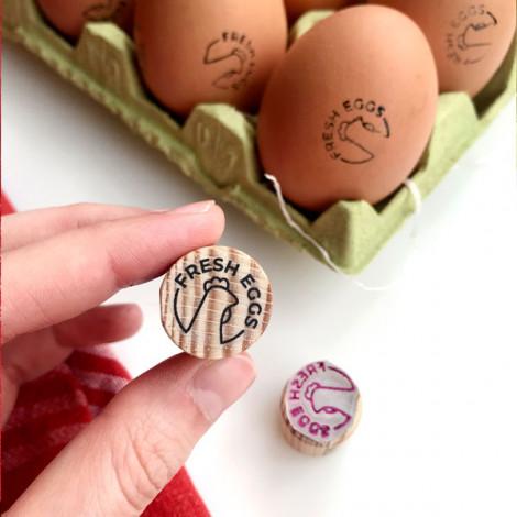Sello para Huevos Frescos - Gallina