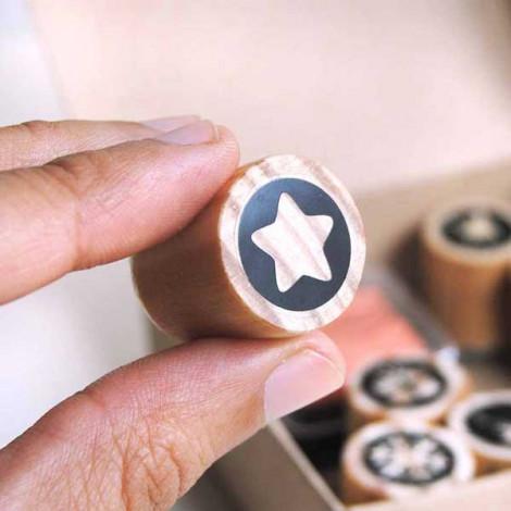 Mini sello Estrella