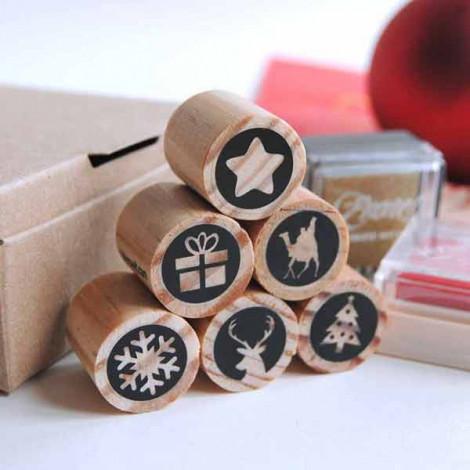 Pack mini sellos Navidad