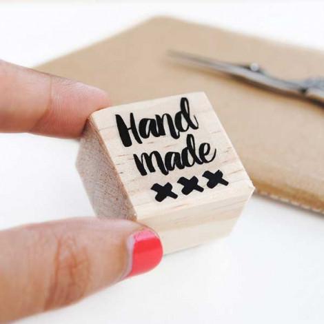 Sello Handmade (inglés)