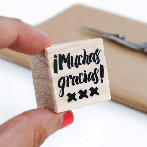 Sello Muchas Gracias (castellano)