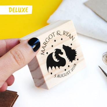 OPCIONAL: Añade el sello Deluxe de boda en las opciones de producto.