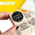 OPCIONAL: Añade el pack de 4 sellos DELUXE en las opciones de producto