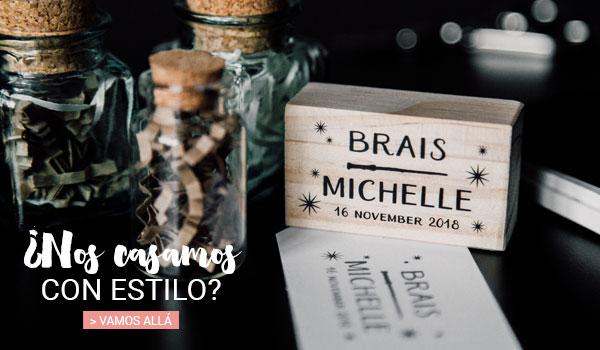 sellos personalizados para bodas tematic